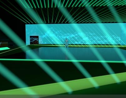 Arena Design with Dancer - concept