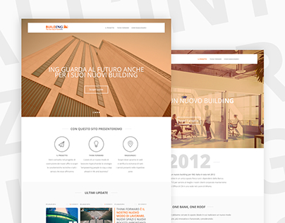 BuildING Website for ING