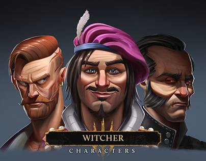 Witcher 3 - Characters