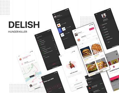 Delish - Food Delivery UI Kit