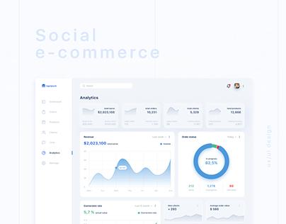 Social e-commerce project