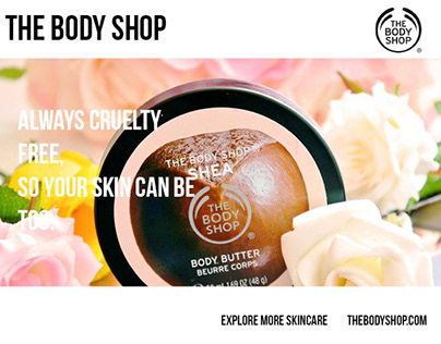 The Body Shop Ad Campaign