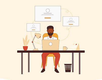 Website Illustrations for DBSA eProcurement