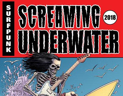 Screaming Underwater: T-shirt