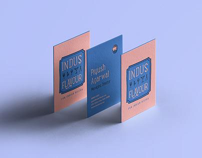 Indus Flavour Restaurant Branding