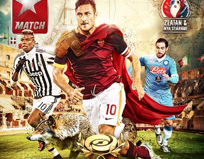 Serie A - Cover Design
