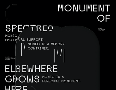 Moneo: Monument of Spectres