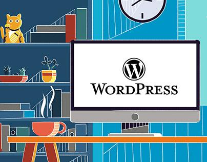 """Wordpress TCD"" animation"