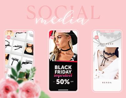 Amo Choker - Social Media