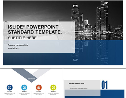 iSlide Presentation Template for Business Report - 17