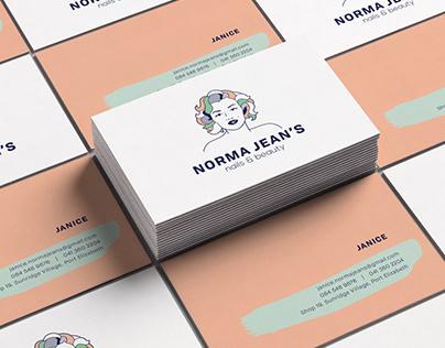 Norma Jean's Branding