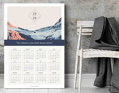 Calendars 2020 for ikonolexi