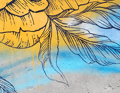 Street Art | Peonies