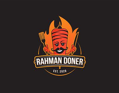 """Logo for """"Rahman Doner"""""""