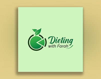 DIETING WITH FARAH   Logo