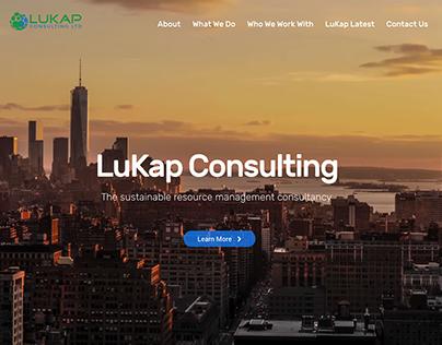 LuKap Consulting Website