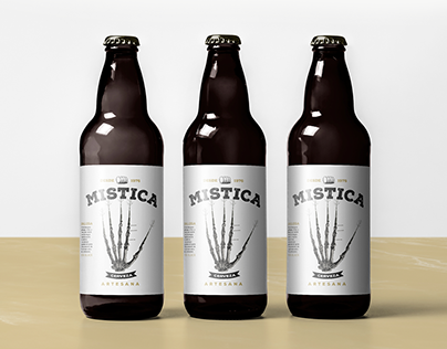 Mística Beer from Galicia