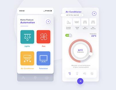 Home Automation App Design