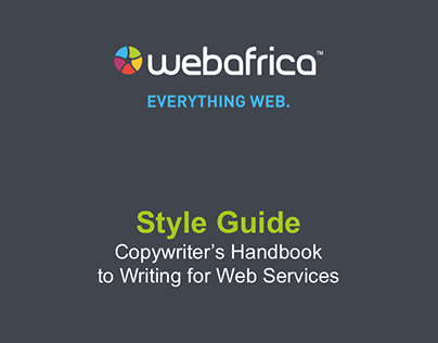 Copywriting Style Guide | Webafrica