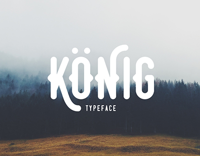 König Typeface