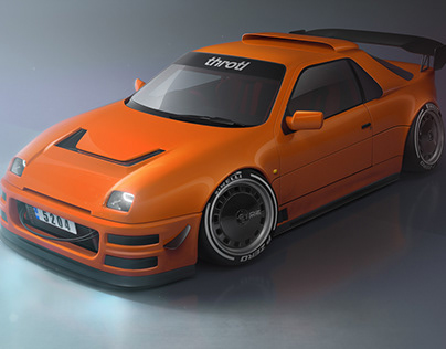 Automotive CGI: Ford RS200 v.2