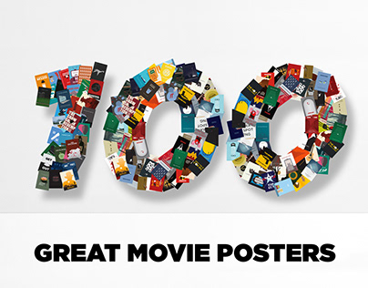 100 Great Movie Posters   Theatrical Posters Redesign