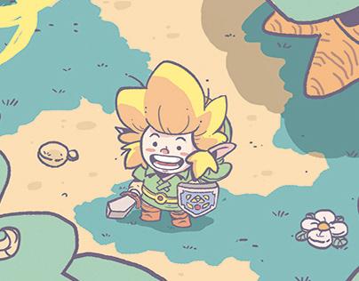 Zelda: Link's Awakening Fanart