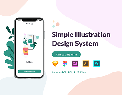 Simple Illustration Design System