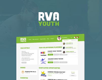 RVA Youth - Branding & website design for a nonprofit