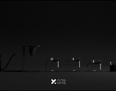【熊与杨咖啡系列手冲套装】产品视频_by Mixar Studio