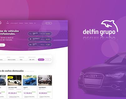 Delfin Profesionales. Car Auctions Web Platform