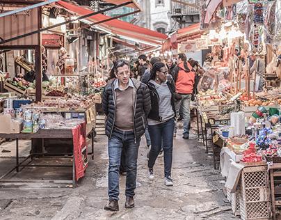 Mercato di Ballarò - Palermo