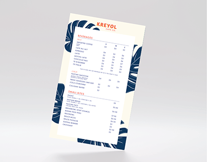 Kreyol Cafe Co. Branding