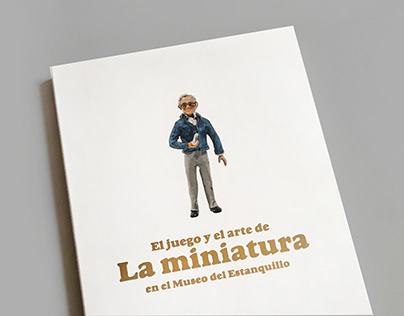 Diseño Libro El juego y el arte de LA MINIATURA