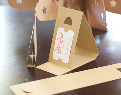Simple Gift-Card Holder - free download diecut