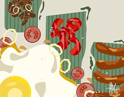 Philippine Cuisine - Illustrations