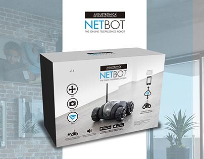 Netbot · Packaging artwork
