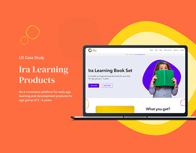Learning Products For Kids - A UI/UX Case Study
