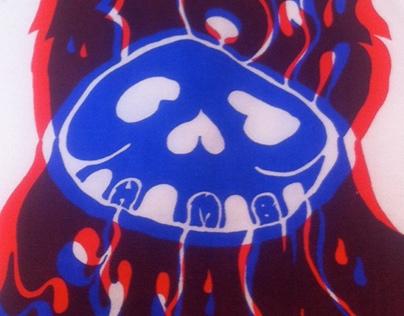 Black Stamp T-Shirt Design