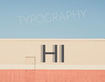 HI - TYPOGRAPHY