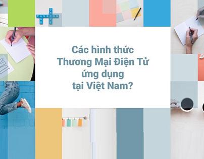 Các hình thức Thương Mại Điện Tử ứng dụng tại Việt Nam