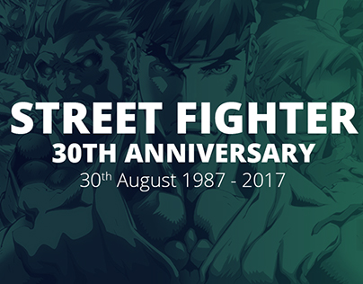 30 Years of Street Fighter