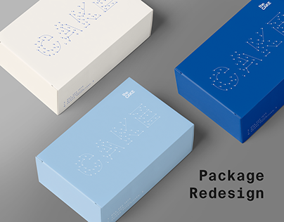 THE CAKE PACKAGE REDESIGN