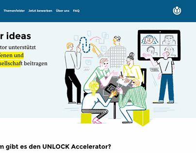 Accelerator Program UNLOCK – For WIKIMEDIA
