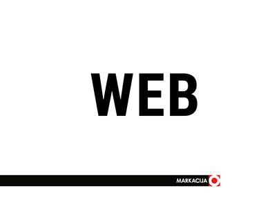 MARKACIJA web pages