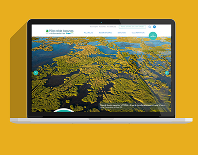 Intégration site WordPress Pôle-relais Lagunes Méditerr