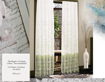 Sublimated curtain