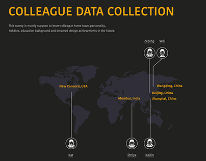 Data Visualization-Colleague Data Collection