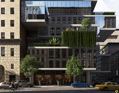 56 Leonard Street | CGI