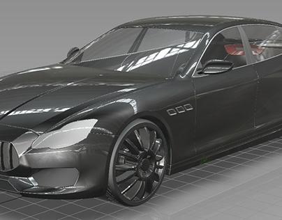 Maserati Quattroporte gts alias model